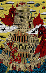 La Tour de Babel 5 couleurs
